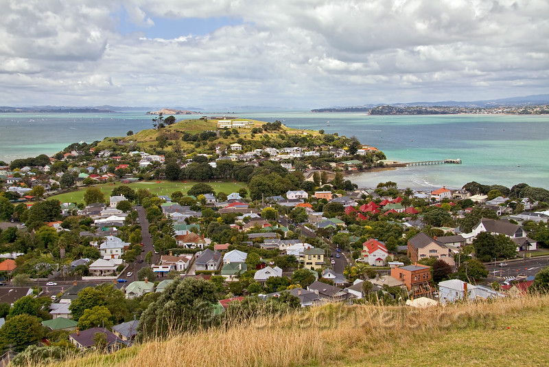 North Head from Mount Victoria, Devonport