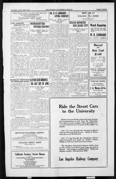 The Southern California Trojan, Vol. 4, No. 2, July 03, 1925