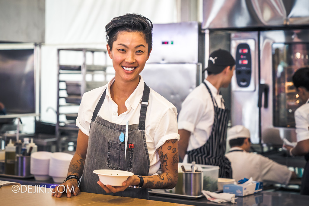 The Great Food Festival RWS - Celebrity Chef Area / Kristen Kish