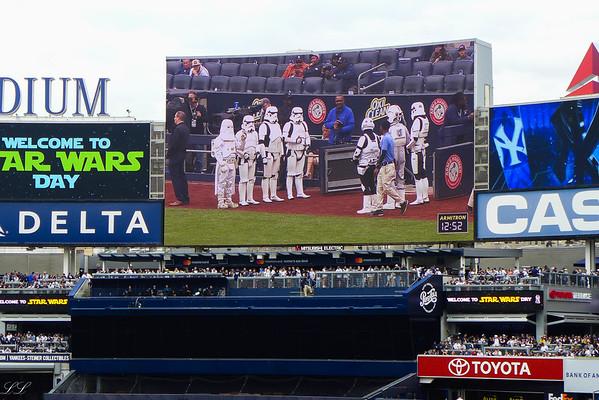 NY Yankees Star Wars Day May 4, 2019