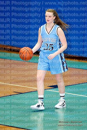 St Mary's VS OLM, Girls Varsity Basketball 01.06.12