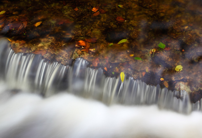 A Touch of Fall - Rapid River Falls (Rapid River, MI)