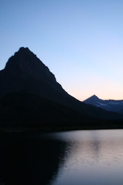 20110828 - 098 - GNP - Sunset From Many Glacier Hotel.JPG
