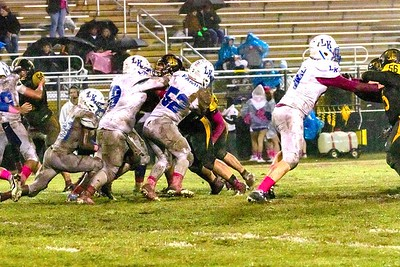 Timpson Bears shutout Linden-Kildare, 35-0, in final home game