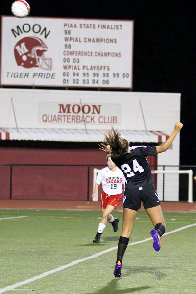 Seneca Valley Girls Soccer vs Moon