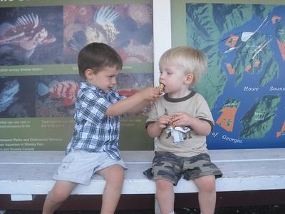 Aug. '11: Liam & Cooper's Excellent Adventures