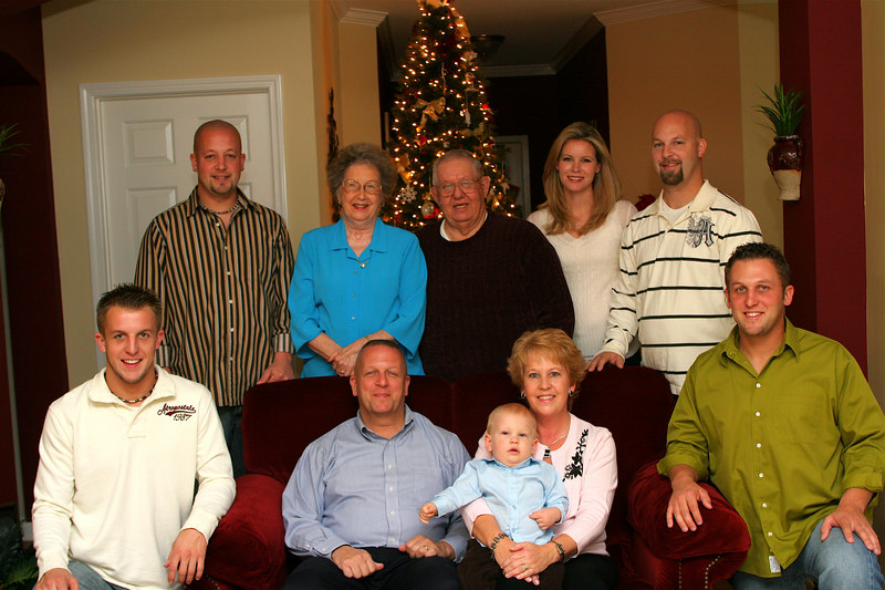 Lykins Family Christmas Session