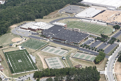 Buford High School Aerial Shoot