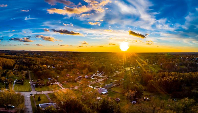 Sunday Night Winter Sunset