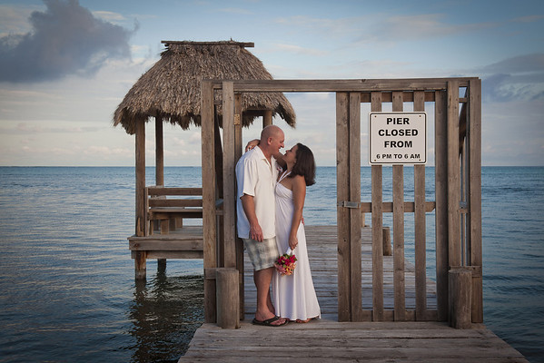 Yvette & John - Renewal - Belize - 29th of December 2013
