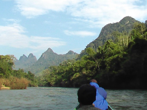 Nam Tha River, Laos - December 2004