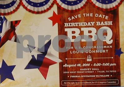 8/18/14 Congressman Louie Gohmert's Barbeque Bash by Jan Barton