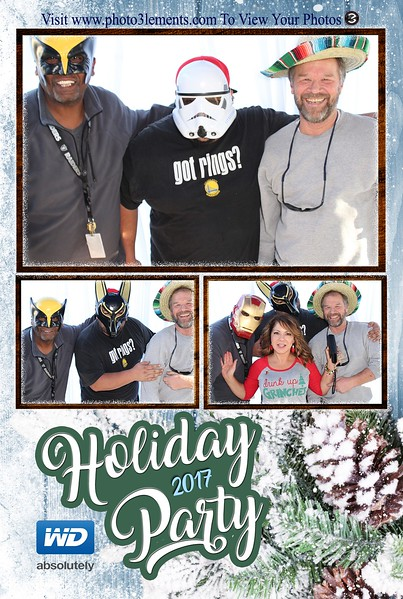 WD Holiday Party 2017