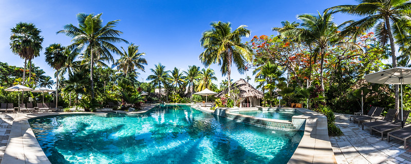 Swimming Pool at Castaway Island Resort - Mamanuca Archipelago - Fiji