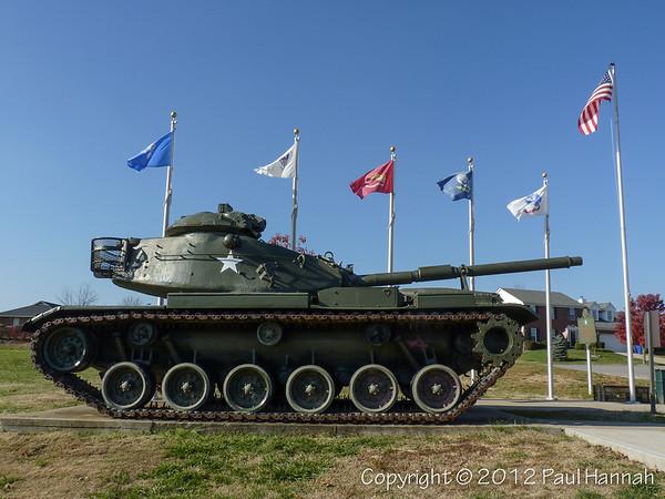 Veterans Park - Lexington, KY - M60A3