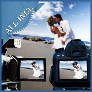 31109 Professional wedding day photo and videography All included