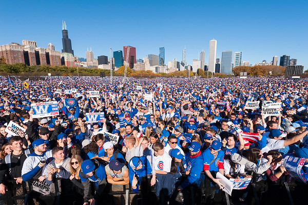 2016 Cubs Championship Parade and Rally
