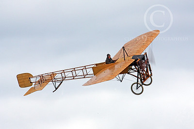 French Bleriot Airplane Pictures [1909 Original--World's Oldest Flying Airplane!]