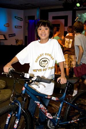Bike Winners! - September 6, 2008