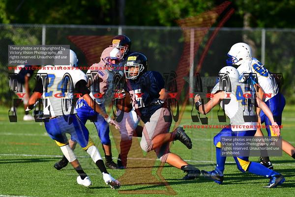 King George & Riverbend @ Colgan JV/Varsity Boys Football 8-10-18 | Scrimmage