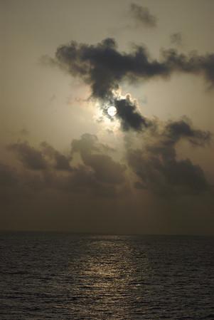 Caribbean Princess - Sunrise at Sea
