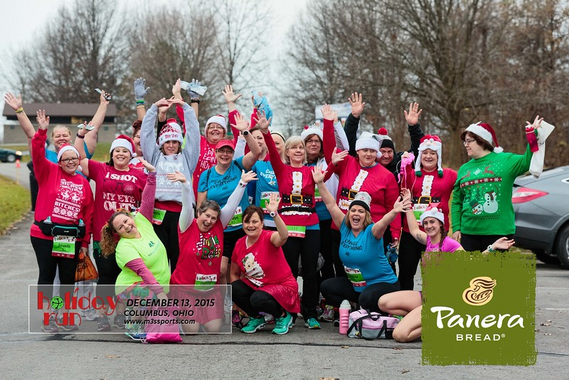 2015 Holiday Run Photos Sponsored by M3S Sports and Panera Bread