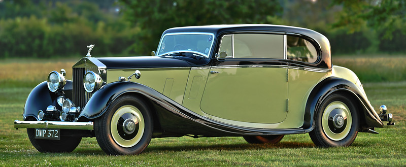 1936 Rolls-Royce 20/25 Sports Coupe by Coachcraft DMP 372 Woolf Barnato