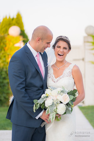Belle Mer Island House Wedding, Newport Rhode Island: Balquis & Michael
