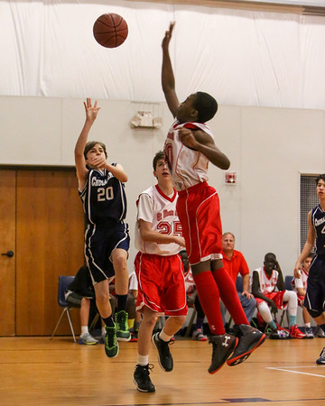 Feb 20 - 7th Gr Boys Gold vs SMG Red