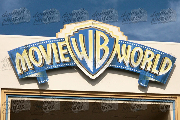Movie World, Gold Coast -  2010