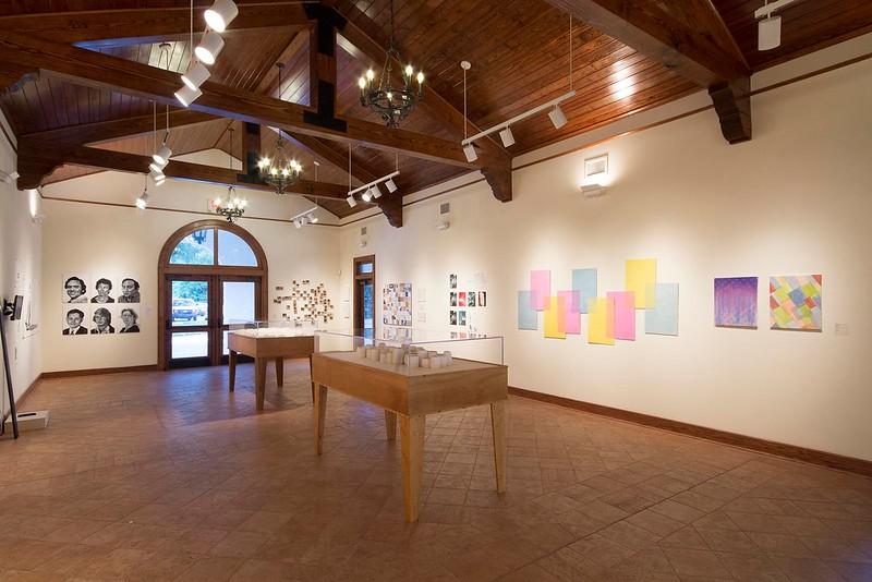 BFA & BA Senior Portfolio Exhibition Spring 2015, Installation View