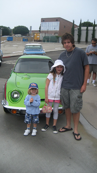 At The Car Show In El Segundo