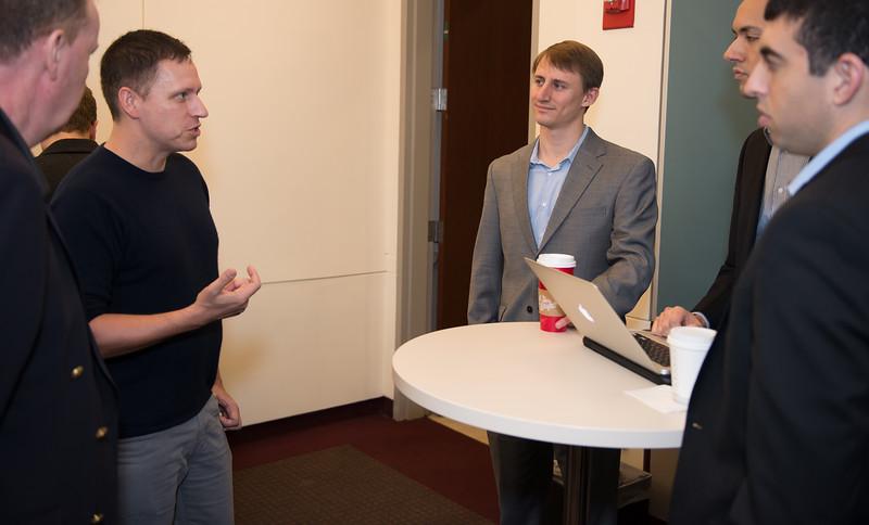 Peter Thiel at BU