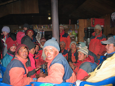 Everest base camp 2004