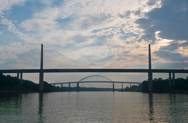 Saint Georges Bridges; West and East