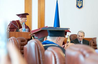 2011-02-25 - Yatskiy is a honorary professor of Dragomanov institute