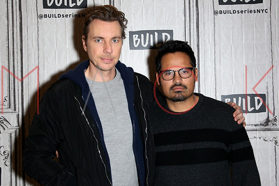 """NEW YORK, NY - MARCH 23:  Build Series Presents Dax Shepard and Michael Pena Discussing """"CHIPS"""" at Build Studio."""