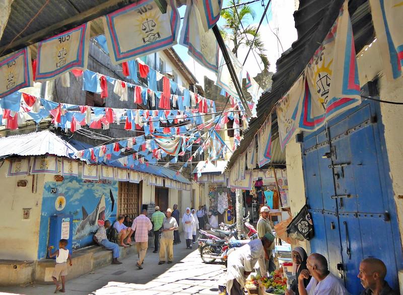 Trip to Zanzibar - lanes of Stone Town