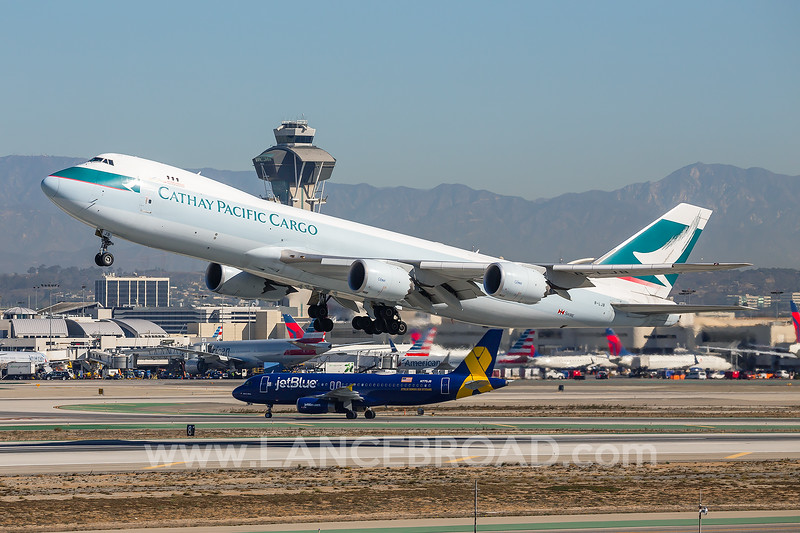 Cathay Pacific Cargo 747-8F - B-LJB - LAX