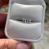 1.47ctw Carre Cut Diamond Pair GIA F VS2 38
