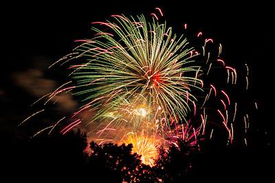 Addison TX Fireworks JUL2017