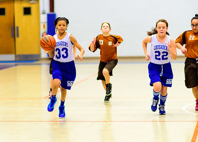 2015 Cumberland Christian Girls Basketball