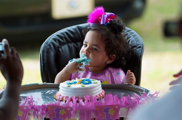 Jada 1st Birthday
