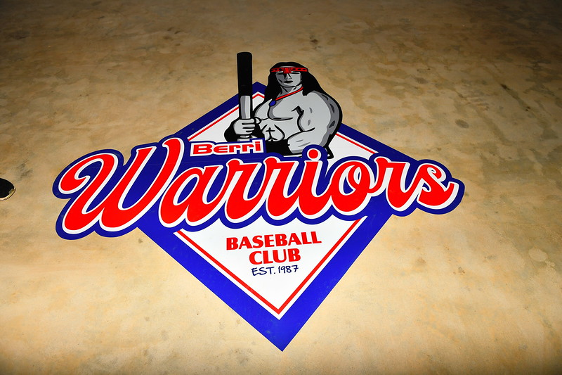 Berri Warrior Baseball Club new rooms