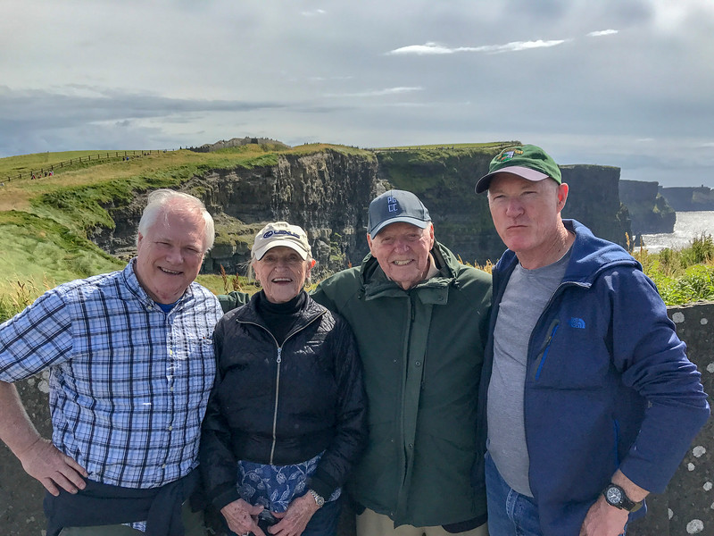Cliffs of Moher August, 2017 Co. Clare, Ireland
