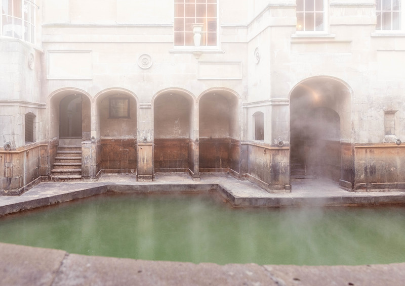 Roman, Medieval , Georgian and Victorian - The Kings Bath, Roman