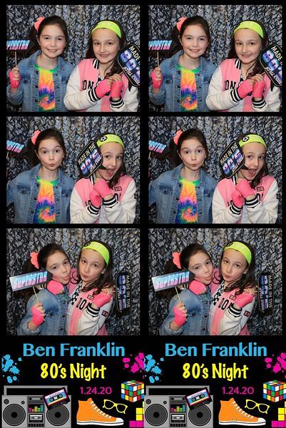 "Ben Franklin Elementary  ""80's Night 2020"""