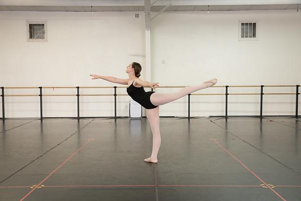 Sadie Ballet Audition
