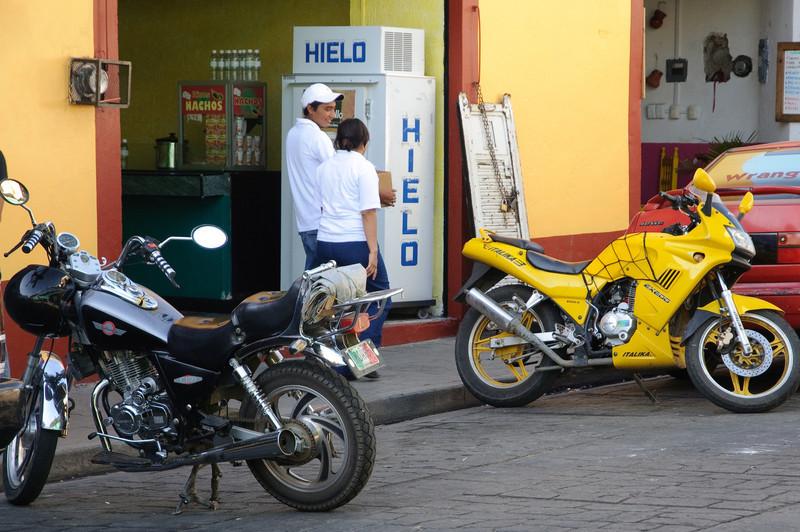 Oaxaca Bike Scene