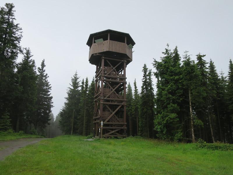 Ziegenhelle uitkijktoren 815 mtr. NHN = NAP